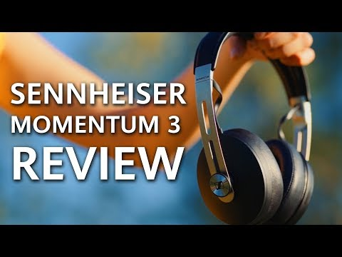 New Sennheiser Momentum 3 Review - TOP Wireless Noise Cancelling Headphones !