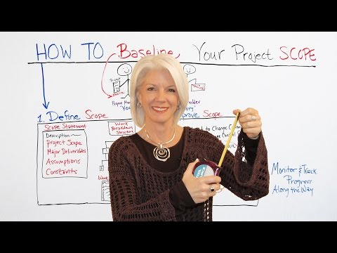 How To Baseline A Project Scope