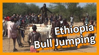Ethiopia - Bull jumping ceremony