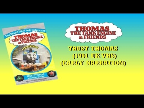 Download Thomas The Tank Engine: Trust Thomas & other stories (Early Narration - 1991 UK VHS)