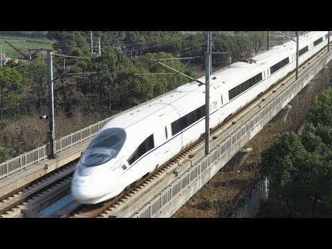 First high-speed railway starts operation in China