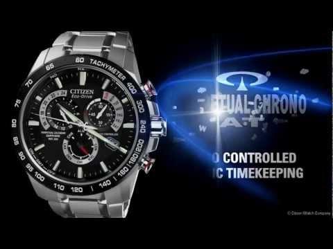 CITIZEN Eco Drive Perpetual Chrono A T Watch AT4008 51E 720p