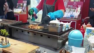 서울 명동 길거리음식 / 버터 오징어구이 / Roast…