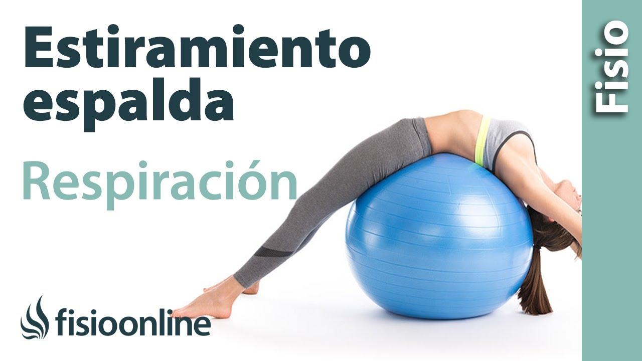 Control De La Respiración Y Dolor De Espalda: Estiramiento De Espalda Incentivando La Respiración