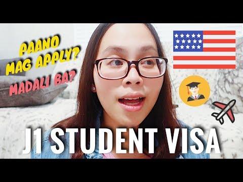 Paano Mag Apply Ng US Student Visa? (J1 Visa) (Filipino Exchange Student Sa America) | Philippines