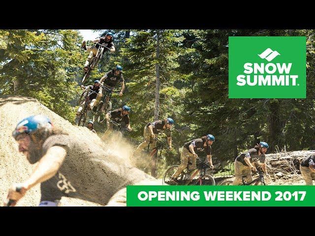 Snow Summit Opening Weekend 2017