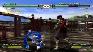 Bloody Roar: Primal Fury - Gamecube HD 720P (Dolphin 3 GC/Wii Emulator)