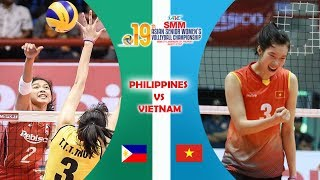 Philippines Vs Vietnam | Asian Women's Volleyball Championship 2017
