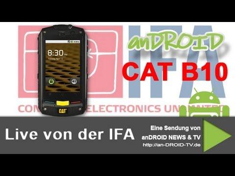 IFA 2012 - CAT B10 HandsOn - anDROID TV