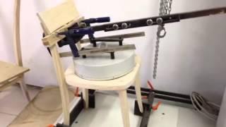 Chair Testing on Pine Chair