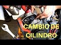 Tutorial COMO CAMBIAR CILINDRO, PISTÓN Y CULATA S3 Gas Gas ec  // How to change piston and cylinder