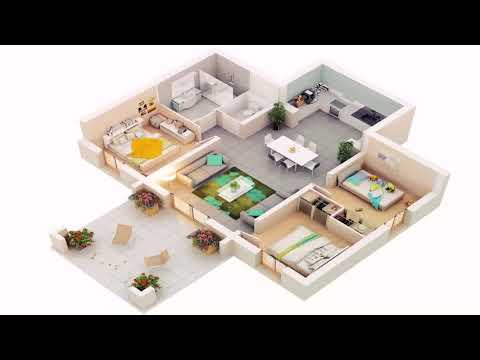 6 Bedroom Bungalow House Plans In India