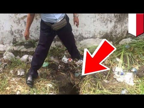 Tahanan kabur dari penjara Kerobokan Bali melalui gorong-gorong - TomoNews
