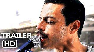 BOHEMIAN RHAPSODY Trailer # 2 (NEW 2018) Rami Malek, Freddie Mercury, Queen Movie HD