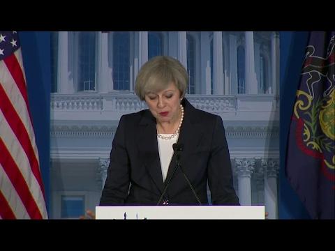 Theresa May première dirigeante reçue par la nouvelle administration Trump