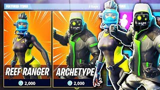 "NOUVEAU SECRET SKINS ET DANCES ADDED! -Semaine shark - Legendary Glider! -""Fortnite Suomi"""