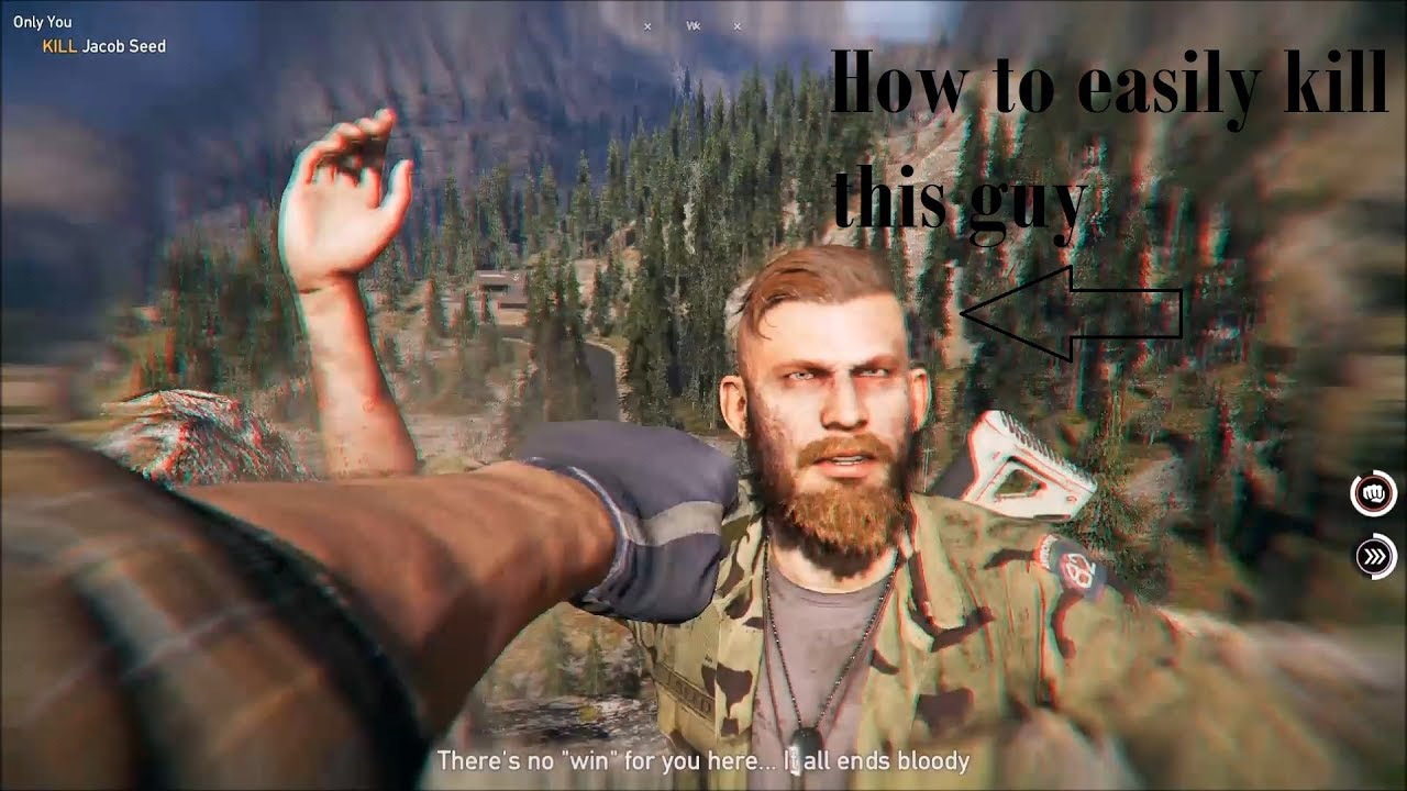 Far Cry 5 Jacob Seed Bossfigth Tips And Tricks Part Of Only You Mission Youtube