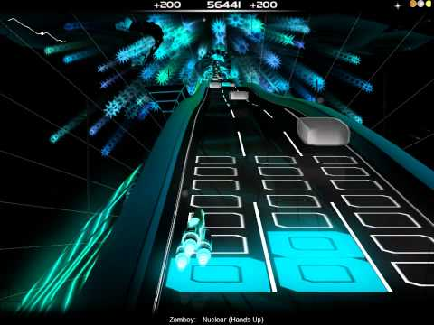 [Audiosurf] Zomboy -- Nuclear (Hands Up)