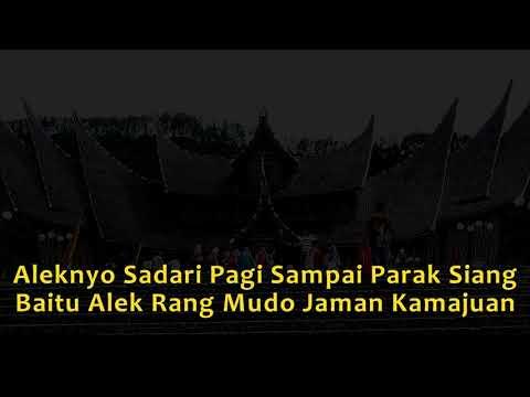 Lagu Minang Popoler (Lirik)