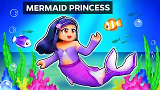 Playing as a MERMAID PRINCESS in Roblox!