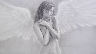 How to Draw an Angel - Learn to Draw the Nude Figure