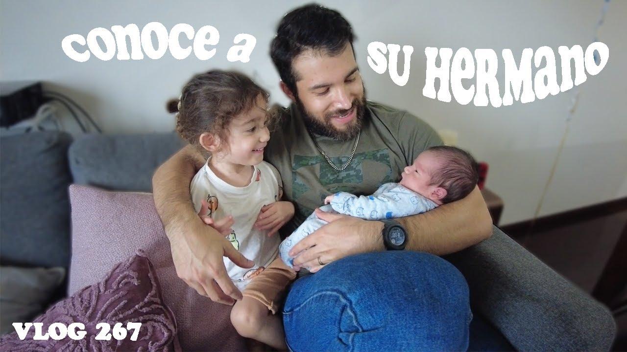 Al fin conoce a su hermano + Sesión de fotos bebé + Primera semana en casa