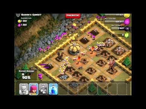 Clash Of Clans Level 31 Queens Gambit
