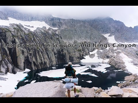 Backpacking in Sequoia and Kings Canyon National Park | Sony a6000 Cinematic
