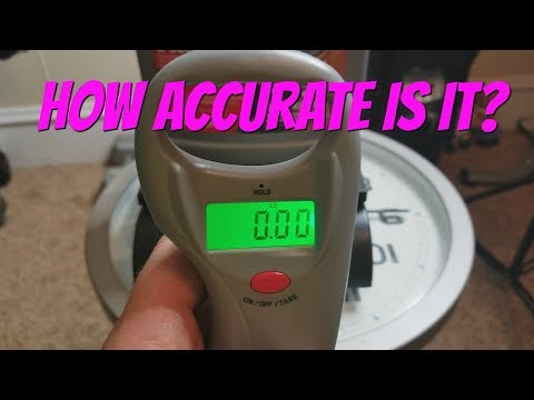 HOW TO CHECK THE ACCURACY OF A FISHING SCALE |  CERTIFYING YOUR SCALE