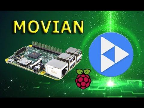 Универсальный RaspberryPi - Медиацентр MOVIAN