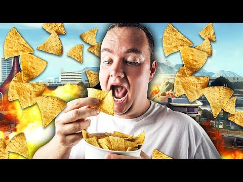 EATING CHIPS TROLLING ON CALL OF DUTY! (Black Ops 2