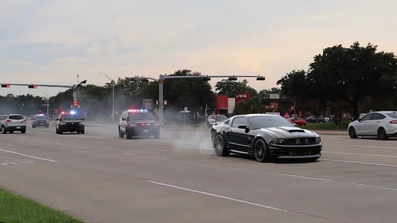 Download Mustang 5.0 OUTRUNS Orlando Police!! Cops Pulling EVERYONE Over! *High Speed Chase!*