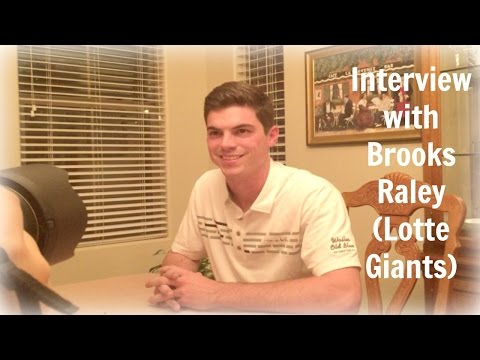 BTS: Interview with Brooks Raley (Lotte Giants)