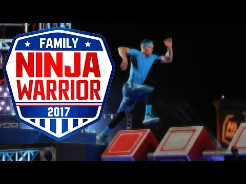 Family Ninja Warrior: Hidden Obstacles
