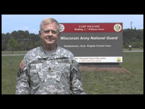 I Am The Wisconsin National Guard: Command Sgt. Maj. Edgar Hansen