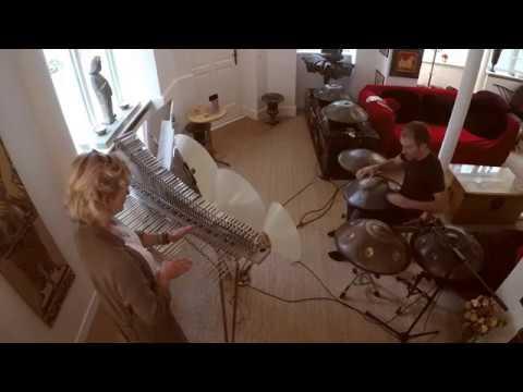 """Gratitude"" with Karinn Helbert, RavVast, Handpans and Cristal Baschet"