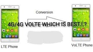 എന്താണ് VOLTE..!..? 4G/4G VOLTE ഏതാണ് മികച്ചത്...?