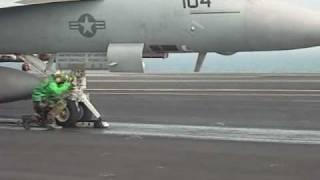 """ Danger Zone "" ABE's aboard the USS Ronald Reagan"