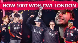 How 100 Thieves Won Their First Call of Duty Esports Title