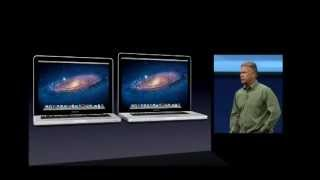Complete Apple WWDC 2012 Keynote Address 11 june 2012 MBP RETINA & Mountain Lion and more..