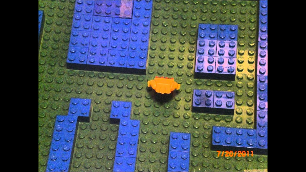 Lego Pac-Man: The Movie (RE-RE-UPLOAD) - YouTube