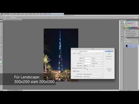 Foto Gitternetz (Grid) - Kopierschutz / Wasserzeichen Mit Photoshop Erstellen (deutsch)