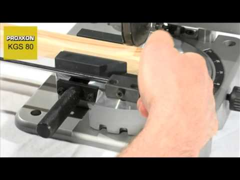 PROXXON 27160 Cut off   mitre saw KGS80 DIRECT FROM RDGTOOLS ONLINE
