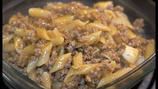 Gambar cover Beef-a-Roni For Dinner - WARNING This Will Make You Hungry!!!