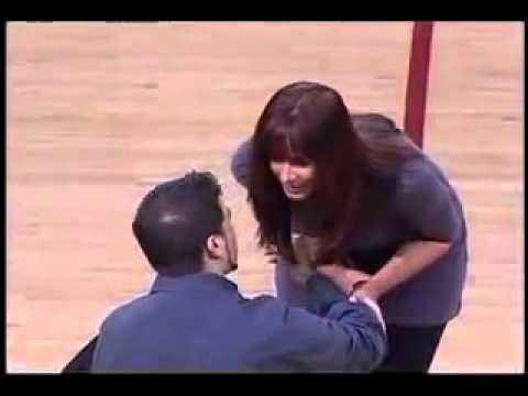 Marriage Proposal Rejected At Basketball Game Youtube