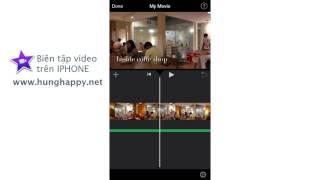Hướng dẫn sử dụng Imovie trên Iphone thumbnail