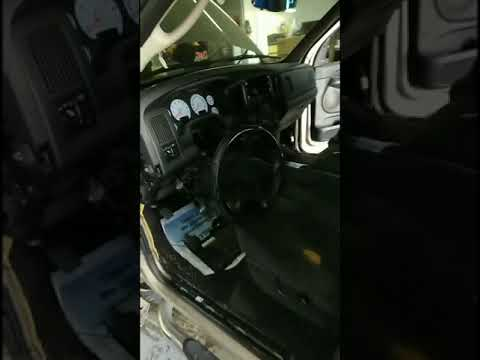 02-08 Dodge Ram 1500 Dash Removal For AC Evaporator & Heater Core