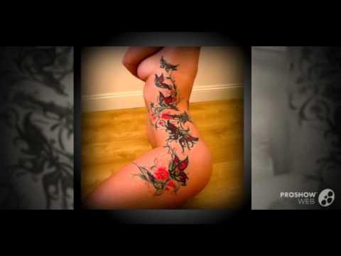 Татуировки на интимных местах девушек