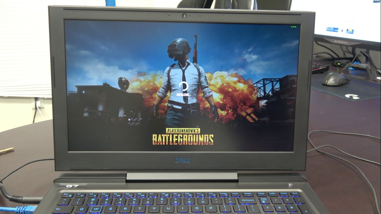 Dell G Series Gaming Laptop G7 PUBG Benchmarks Unboxing