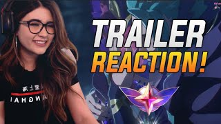 Reacting to the NEW Star Guardian Trailer | League of Legends